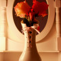 Vase Hypnotik Lacet rose pâle. Barnabé Ribay