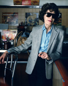 Blind Woman at Woolworth's Counter_Binghamton  NY 1987 © Bruce Wrighton