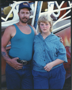 Couple in blue - Owego-fair - NY - 1987