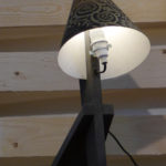 Upcycling-Lampe Atelier 16