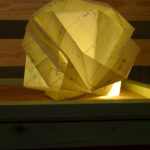 Upcycling-Lampe Lucie Vanroy