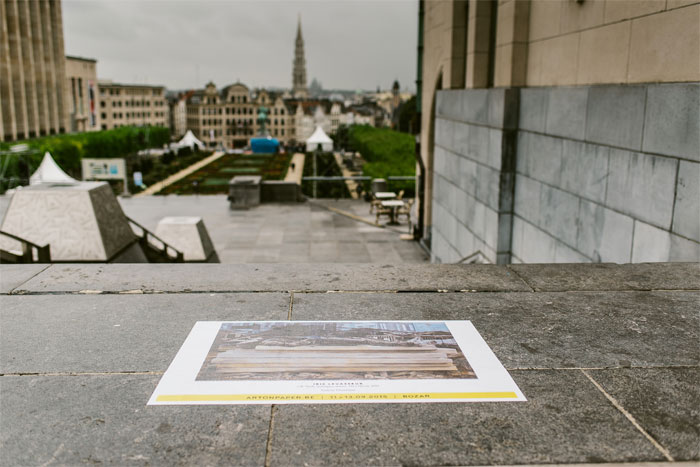 GALERIE OUIZEMAN - Iris Levasseur, 2014 - Mont des ARTS - Kuntsberg, 1000 Brussels