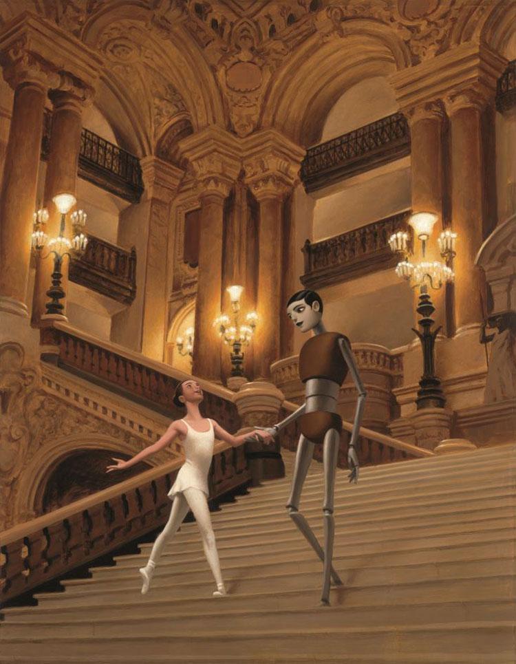 F. Roca, Rose et l'automate de l'opéra, Albin Michel jeunesse, 2013