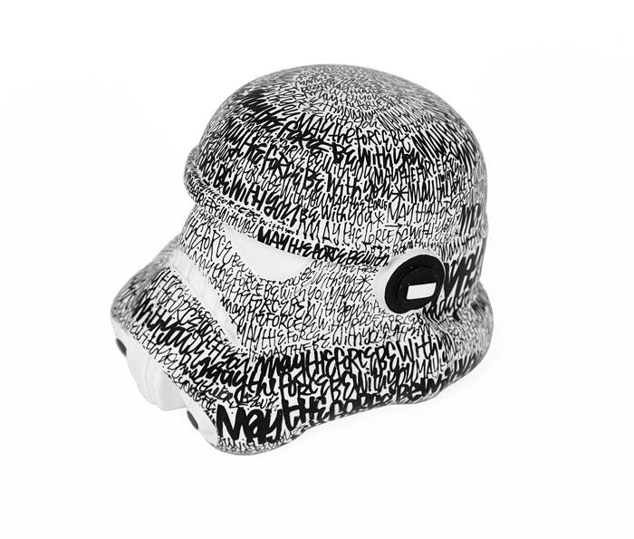 Le casque de Stormtrooper réinterprété par Denis Meyers