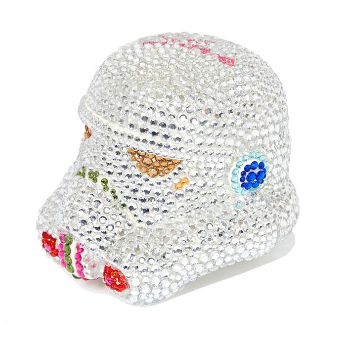 Le casque de Stormtrooper réinterprété par Emilie Duchene