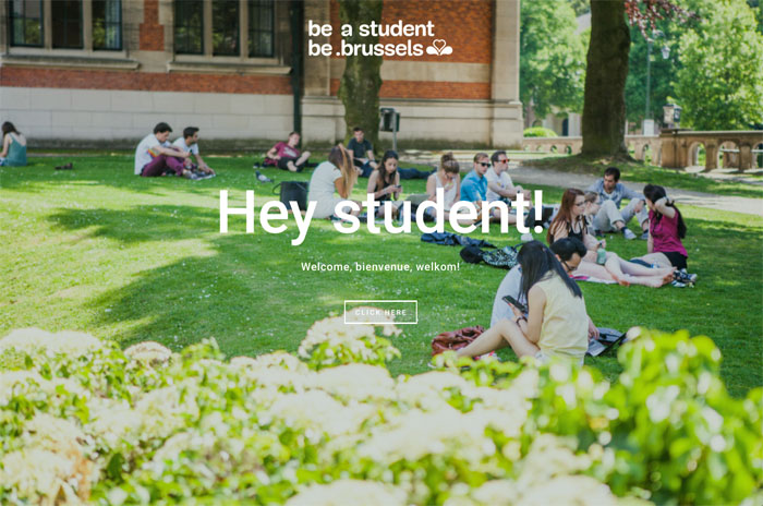 be a student be.brussels