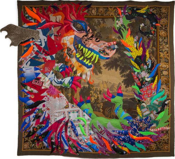 LJ10, Tapestry Raw Textiles, Lionel Jadot © Serge Anton