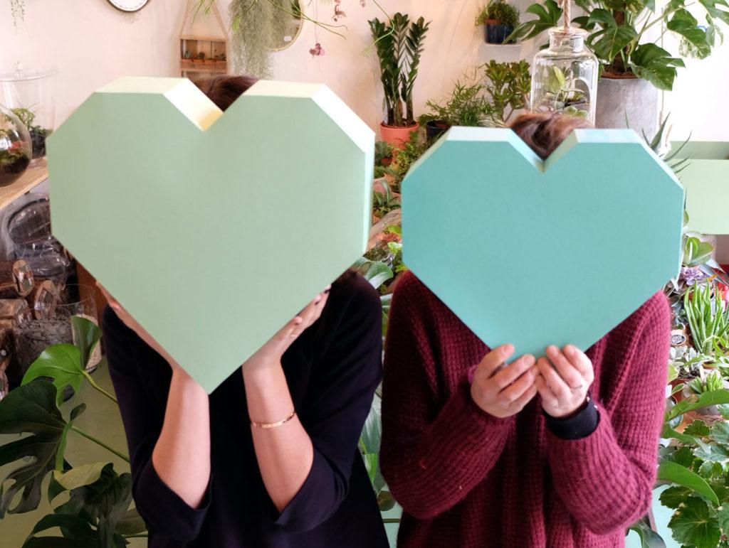 DIY Saint Valentin Tropical Love