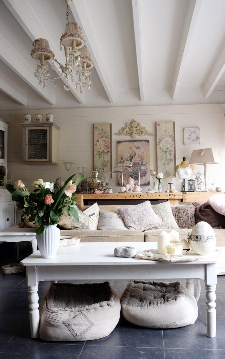 shabby salon dklikk. Black Bedroom Furniture Sets. Home Design Ideas