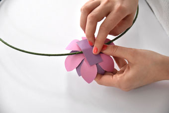 decoration diy fleurs © photo : Corentine Delepine