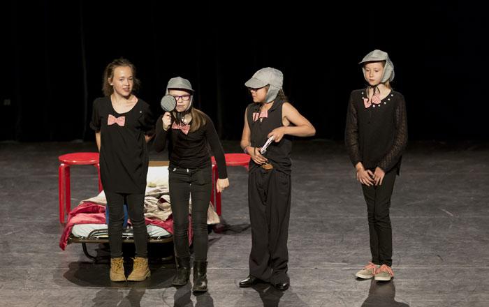 Théâtre et enfants - Photo © Joelle Semal