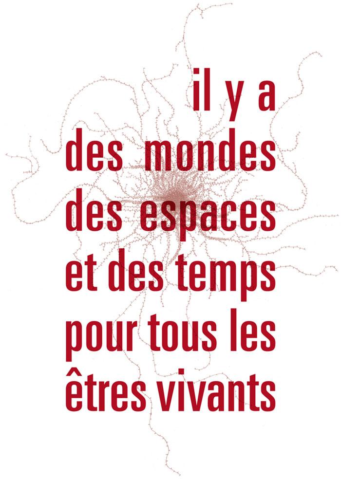 """LMNO Gallery - Lise Duclaux """"Il y a Des Mondes Des Espaces et Des Temps pour Tous les Etres Vivants"""""""