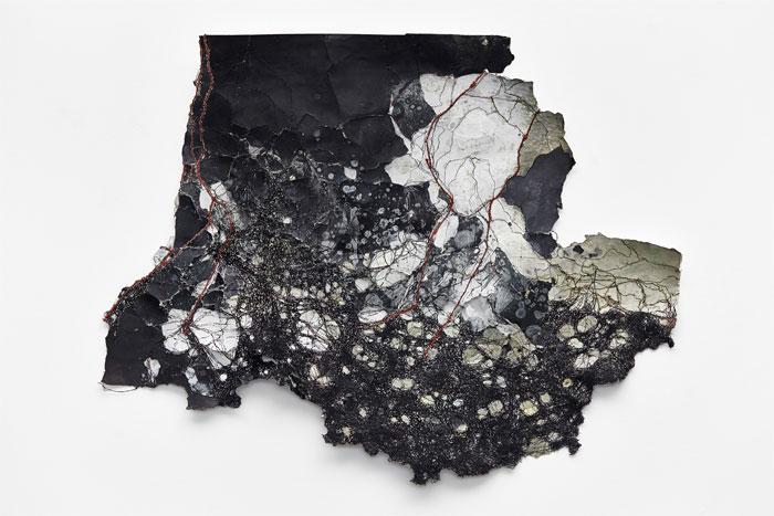 "Papillon Gallery - Cathryn Boch ""Sans Titre 02"" - 2016 © JC Lett"