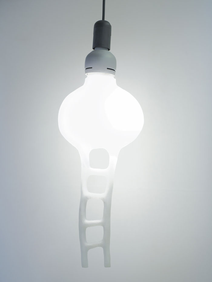Special edition of soft LED light bulb © Nacho Carbonell