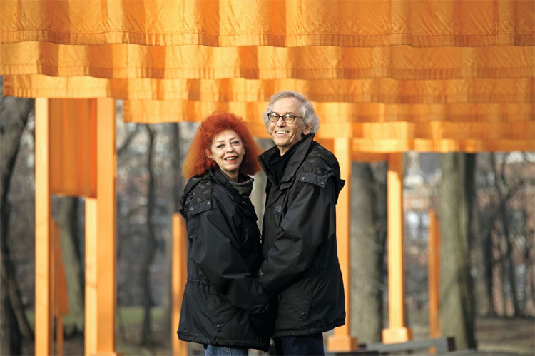 Christo et Jeanne-Claude, New-York, 2005