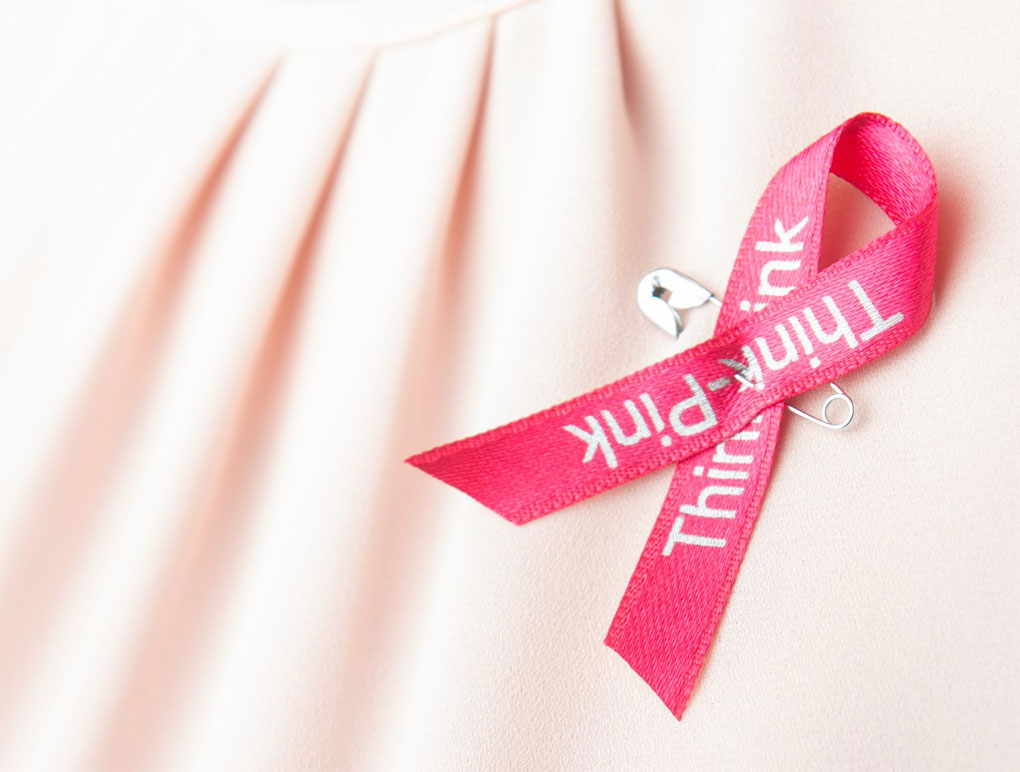 octobre rose, pink ribbon © photo DR/think-pink. Campagne de dépistage pou le cancer du sein