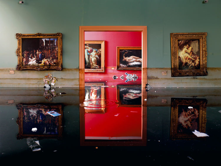 After the Deluge, Museum, 2007 Chromogenic Print © David LaChapelle Studio Inc