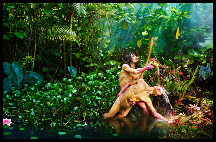 I Will Restore You, 2017 Pigment Print © David LaChapelle Studio Inc