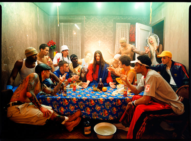 Last Supper, 2003 Chromogenic Print © David LaChapelle Studio Inc