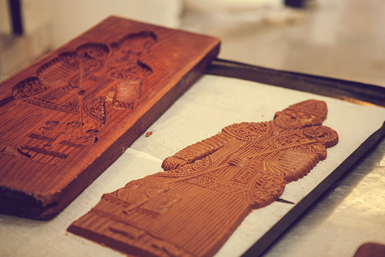 Biscuits spéculoos - Atelier Maison Dandoy - Photo © Sarah Blieux
