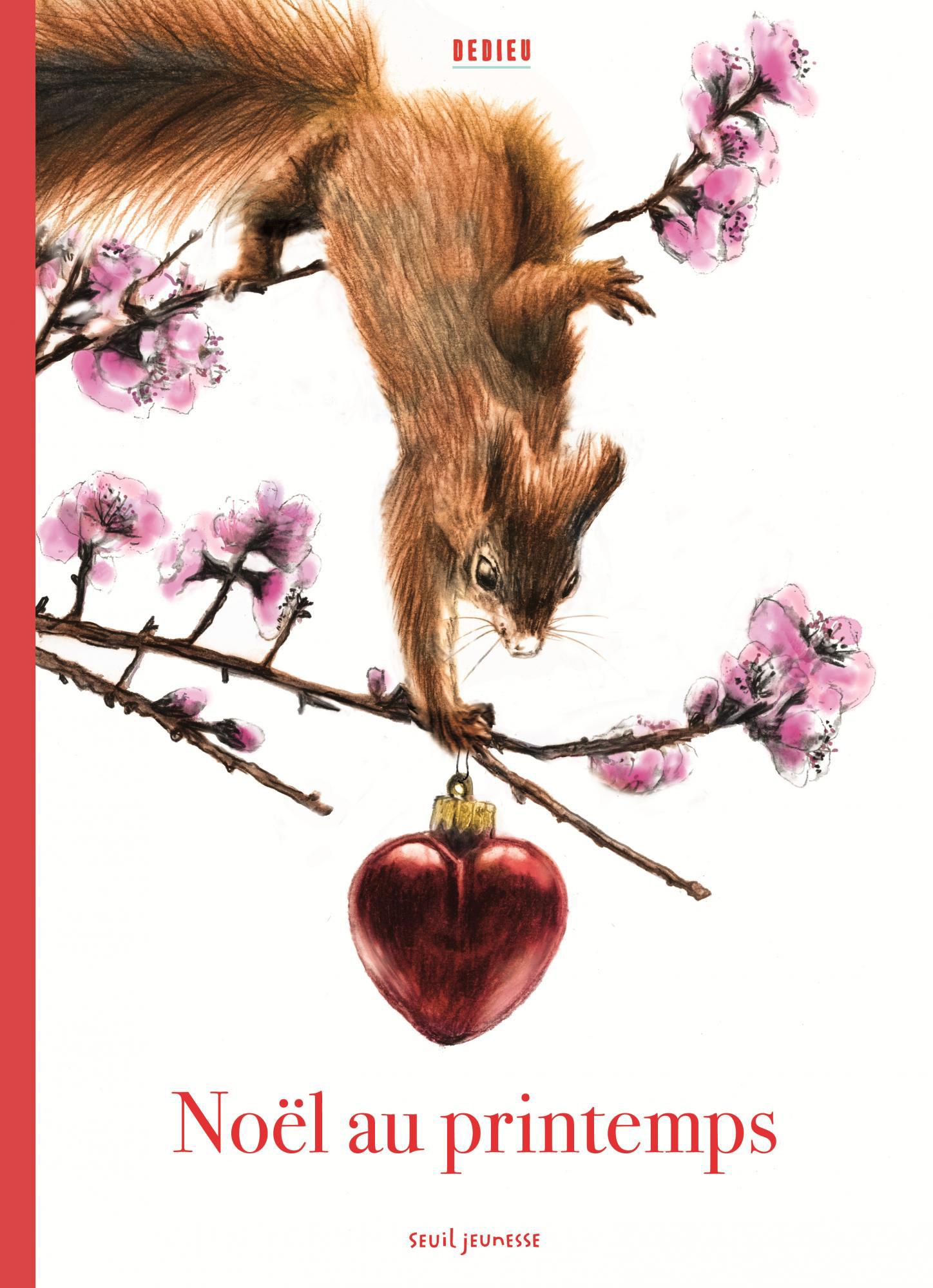 Lectures de Yuyine, Noël au printemps de Dedieu chez Seuil Jeunesse