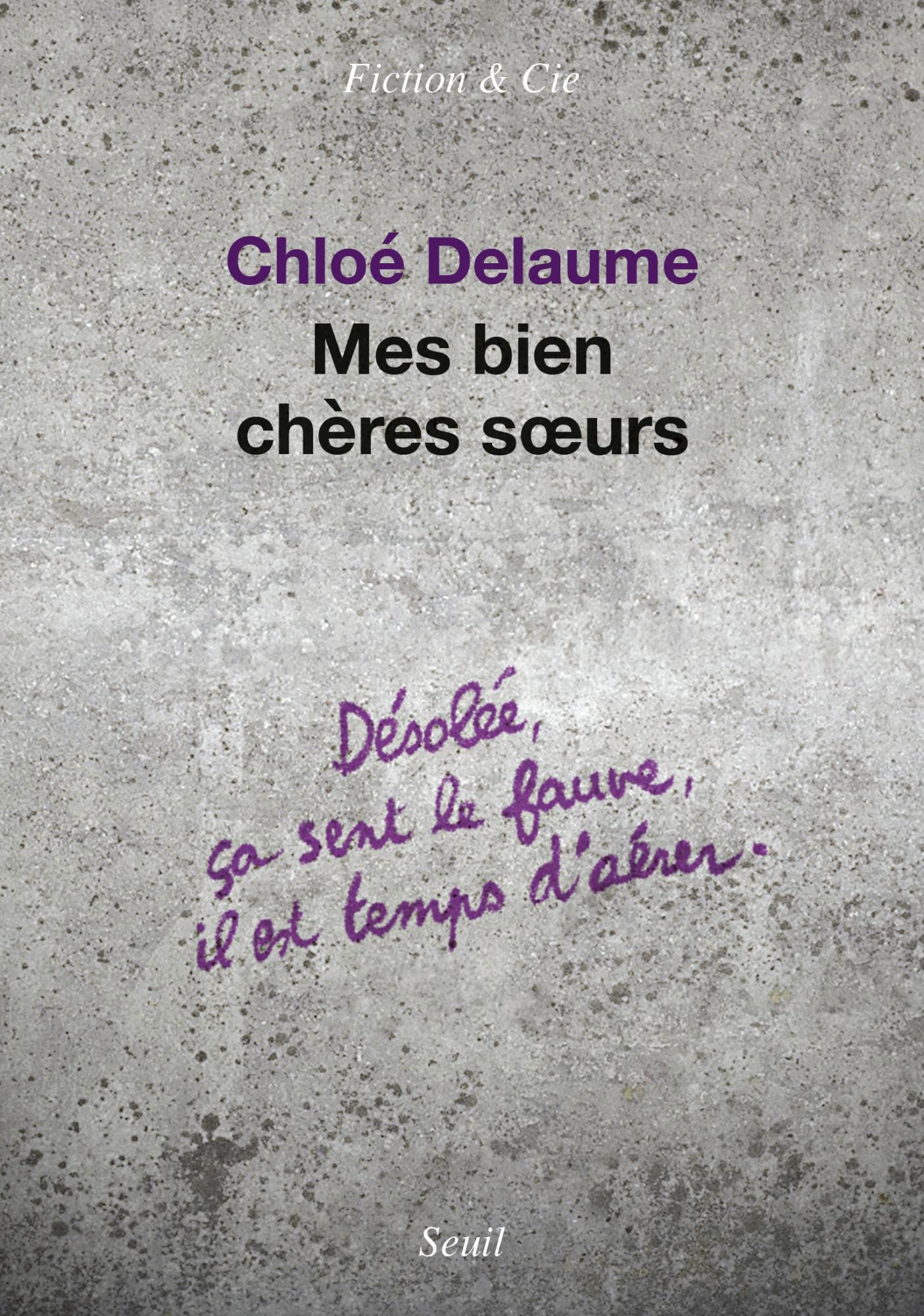 Lectures de Yuyine, Chloé Delaume, Mes bien chères soeurs